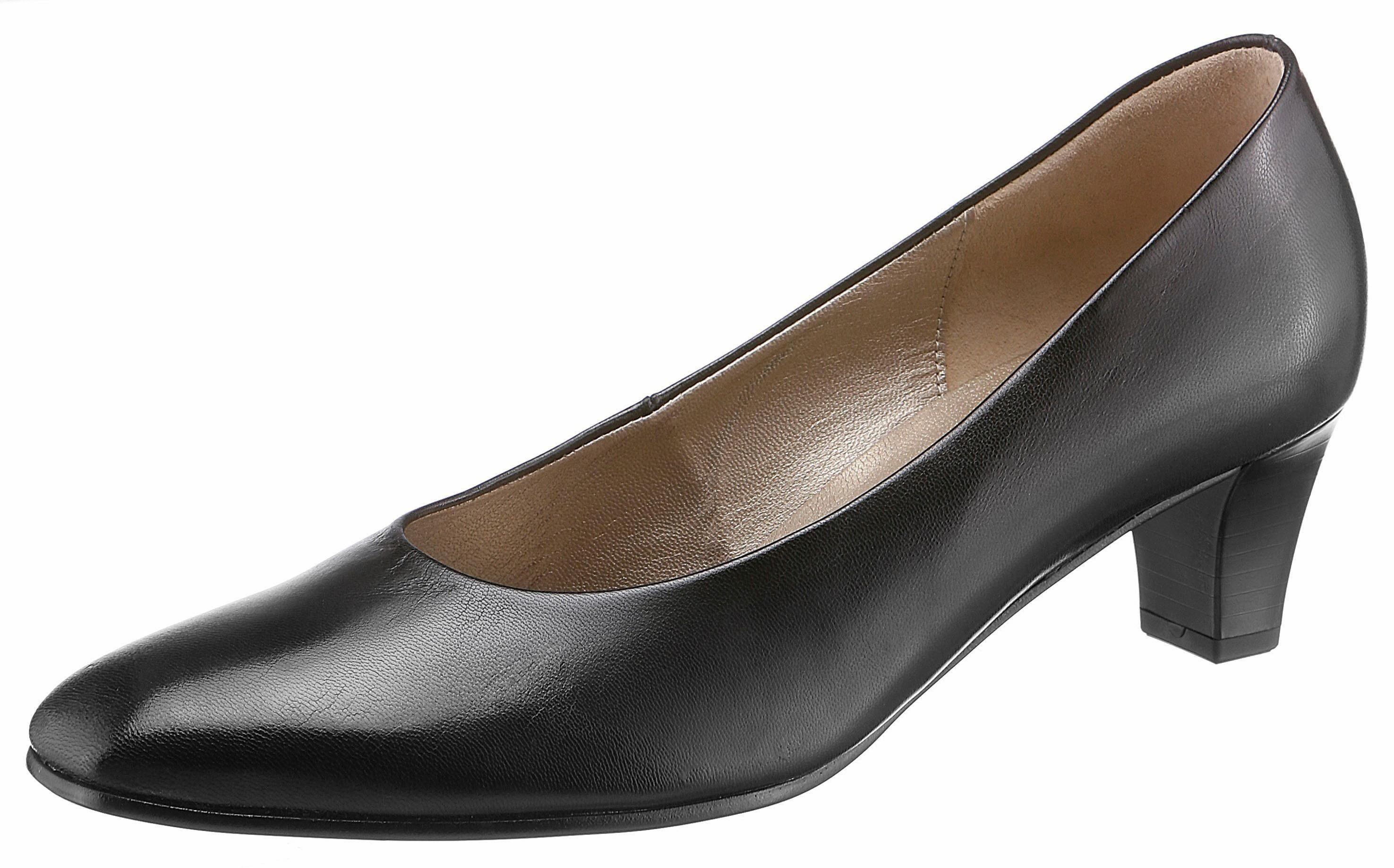 Gabor - Femmes Pompes - Chaussures Noires En Extra Large - Noir - 5 Au Royaume-uni OpoPl