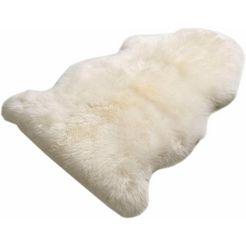boeing carpet vachtvloerkleed schapenvacht lf echte lamsvacht, woonkamer beige