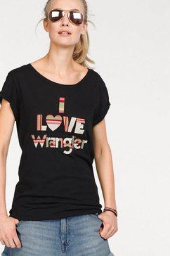 wrangler t-shirt zwart