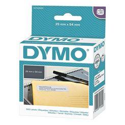 dymo papieren etiketten voor labelwriter wit