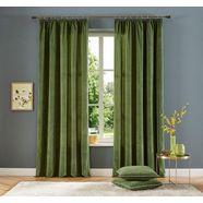 gordijn, home affaire collection, »brighton«, met rimpelband (set van 2) groen