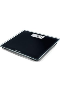 soehnle personenweegschaal pwd style sense compact 100, glazen personenweegschaal in compact design zwart