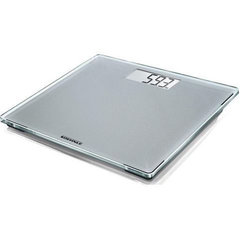 Soehnle Sense Compact 300 Electronic personal scale Vierkant Zilver