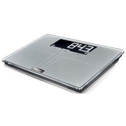 soehnle personenweegschaal pwd shape sense profi 300, hoogwaardige lichaamsanalyseweegschaal zilver