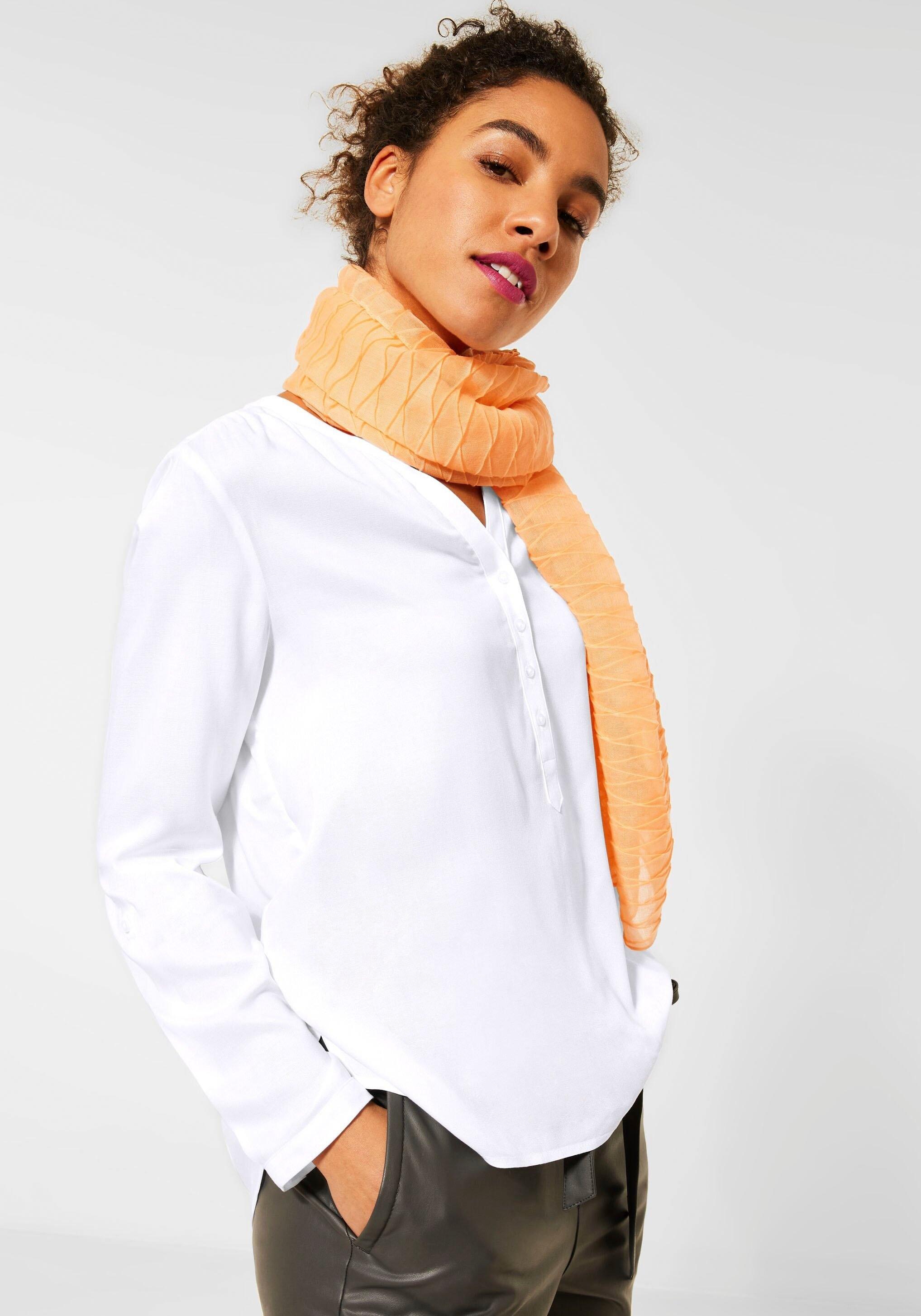 STREET ONE blouse met lange mouwen Bamika met pas achter goedkoop op otto.nl kopen
