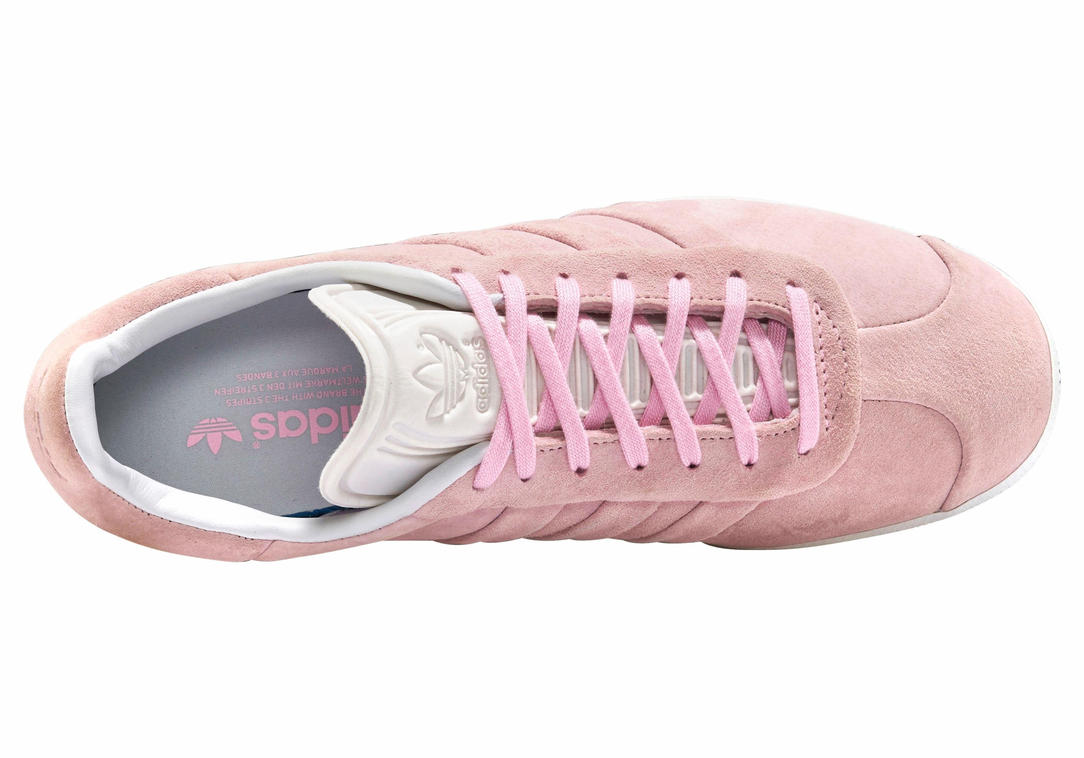 the best attitude b13a2 b3a9b adidas originals sneakers »gazelle stitch and turn w« roze