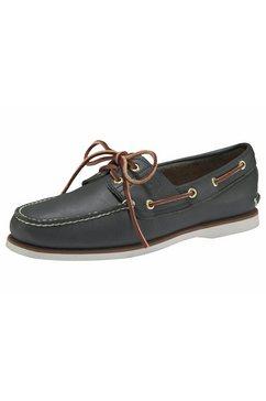 timberland bootschoenen »men's 2 exe boat shoe« blauw