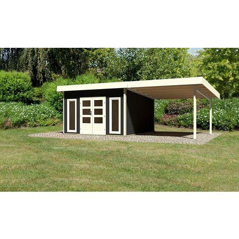 KONIFERA set: Tuinhuisje Rosenheim 5, Bxd: 724x420 cm