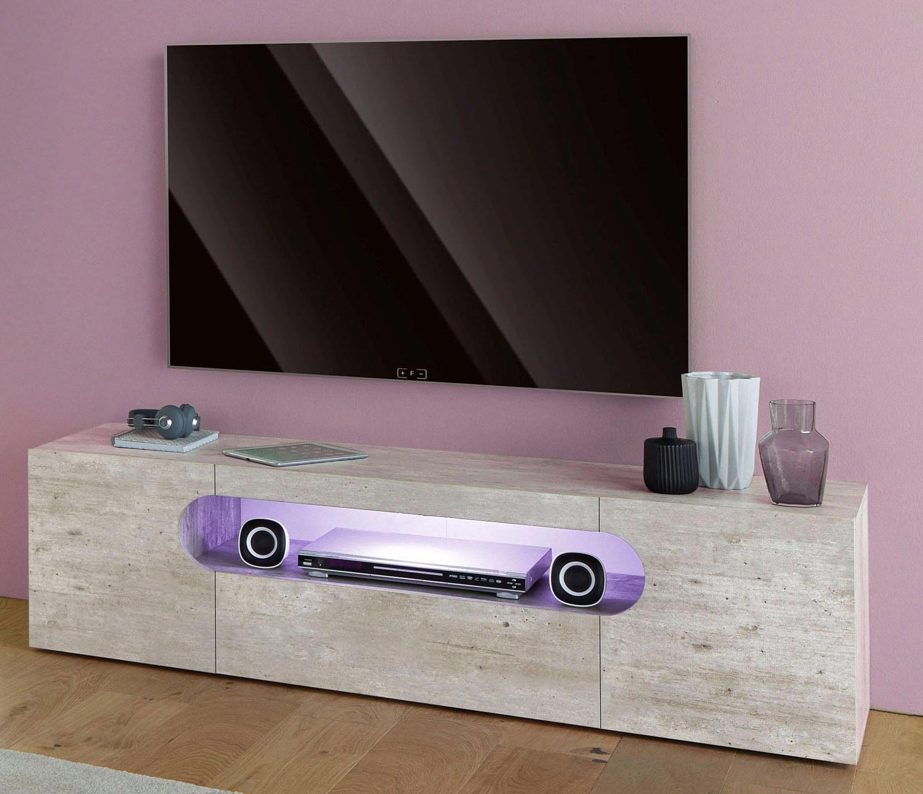 Tecnos tv-meubel »Real«, breedte 150 cm - gratis ruilen op otto.nl
