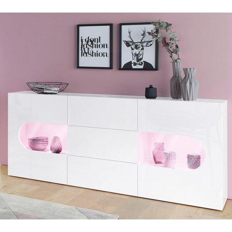 Tecnos dressoir Real, breedte 180 cm