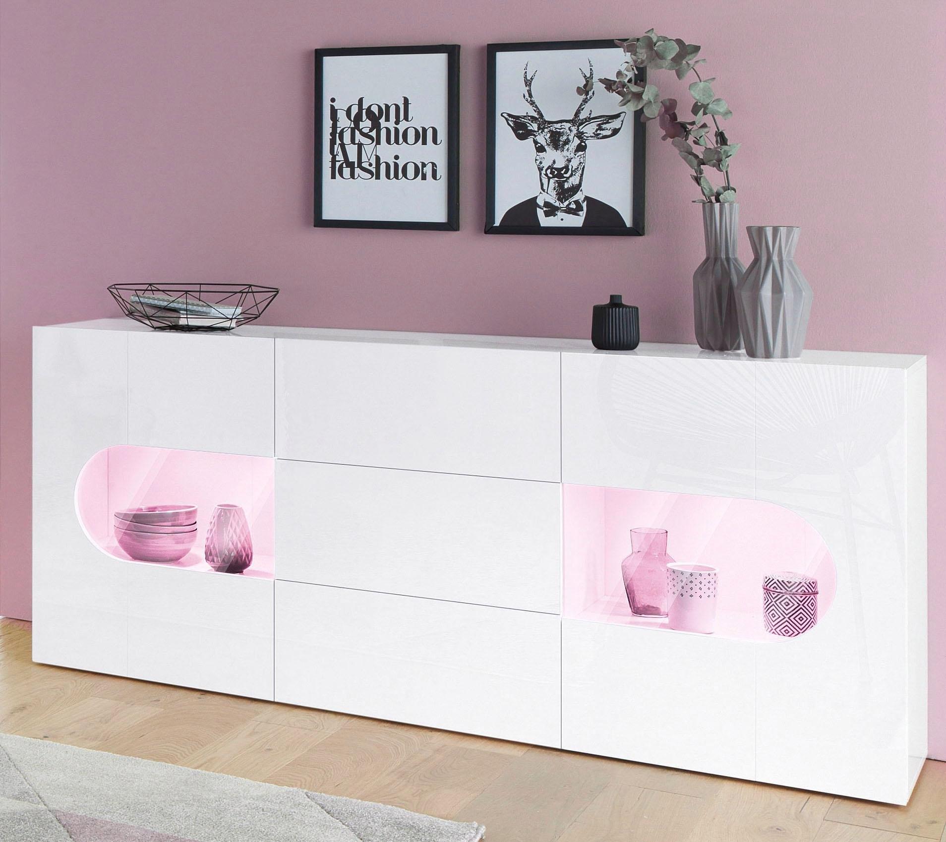 Tecnos dressoir »Real«, breedte 180 cm - gratis ruilen op otto.nl
