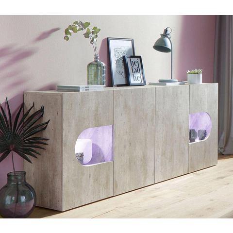 Tecnos dressoir Real, breedte 200 cm