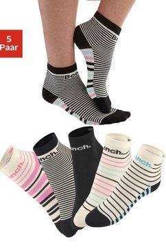 bench korte sokken (set van 5 paar) multicolor