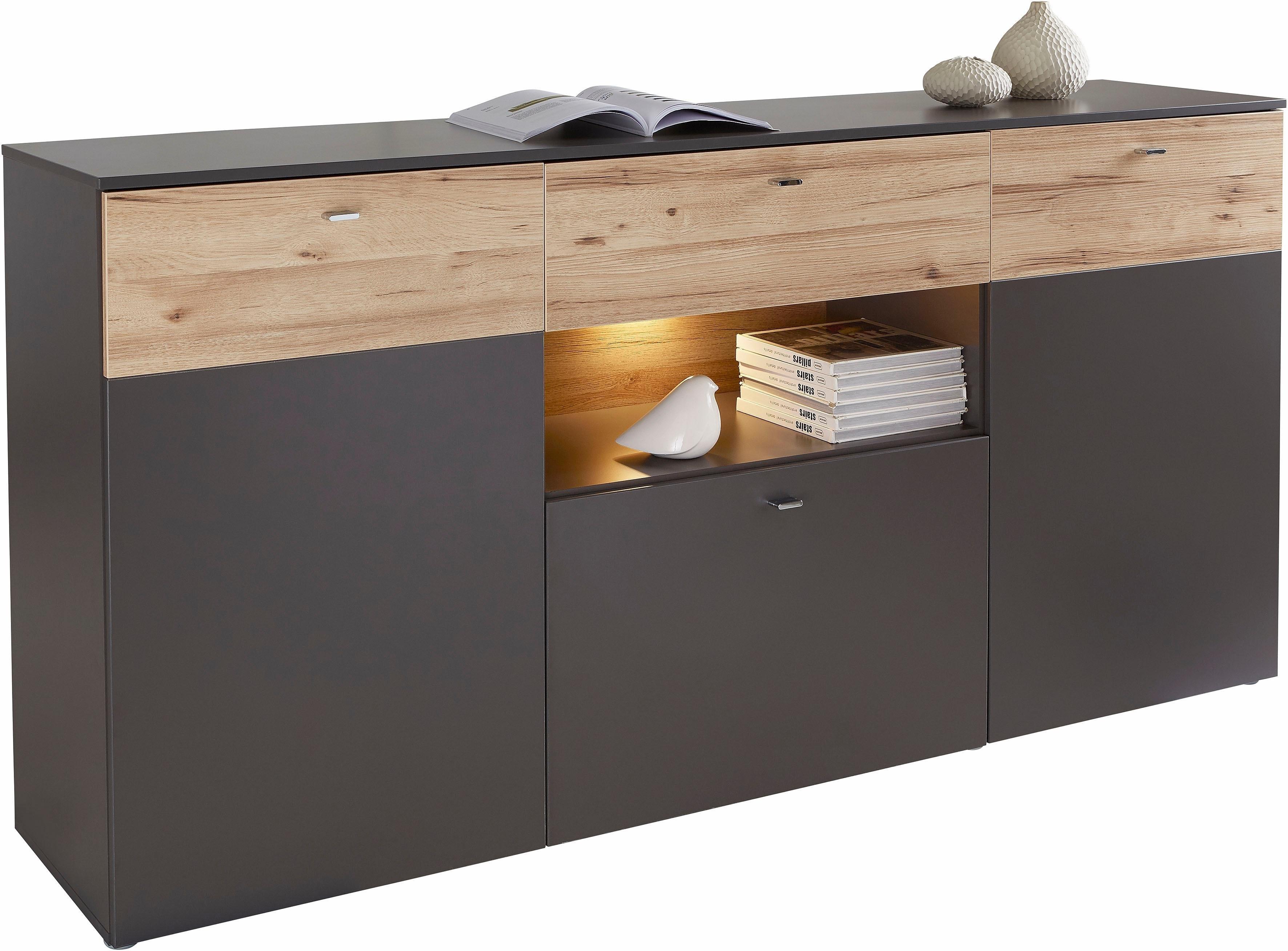 Forte dressoir, breedte 195 cm in de webshop van OTTO kopen