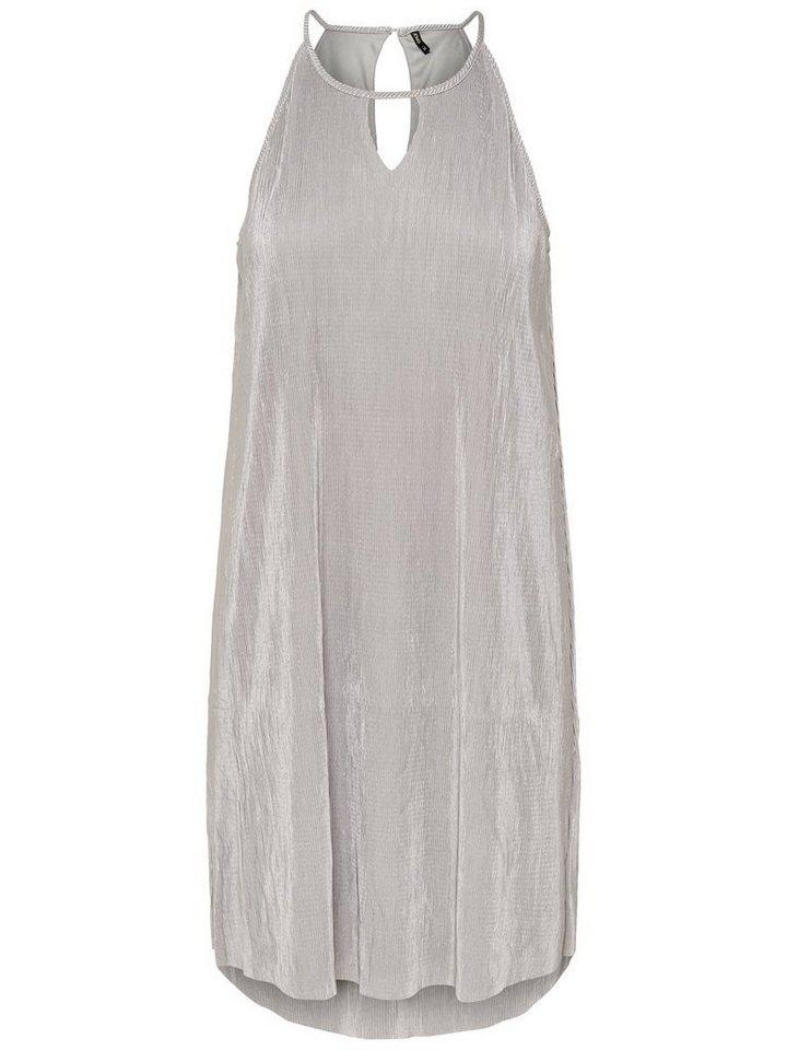 ONLY Loose fit Mouwloze jurk zilver
