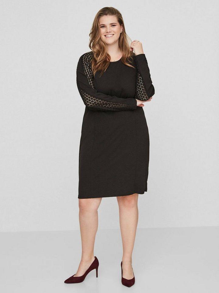 Junarose Lange mouw jurk zwart