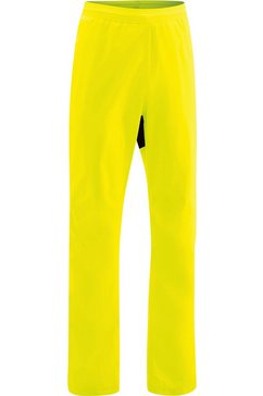gonso regenbroek »drainon« geel