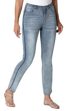 ambria jeans in klassiek five-pocketsmodel blauw