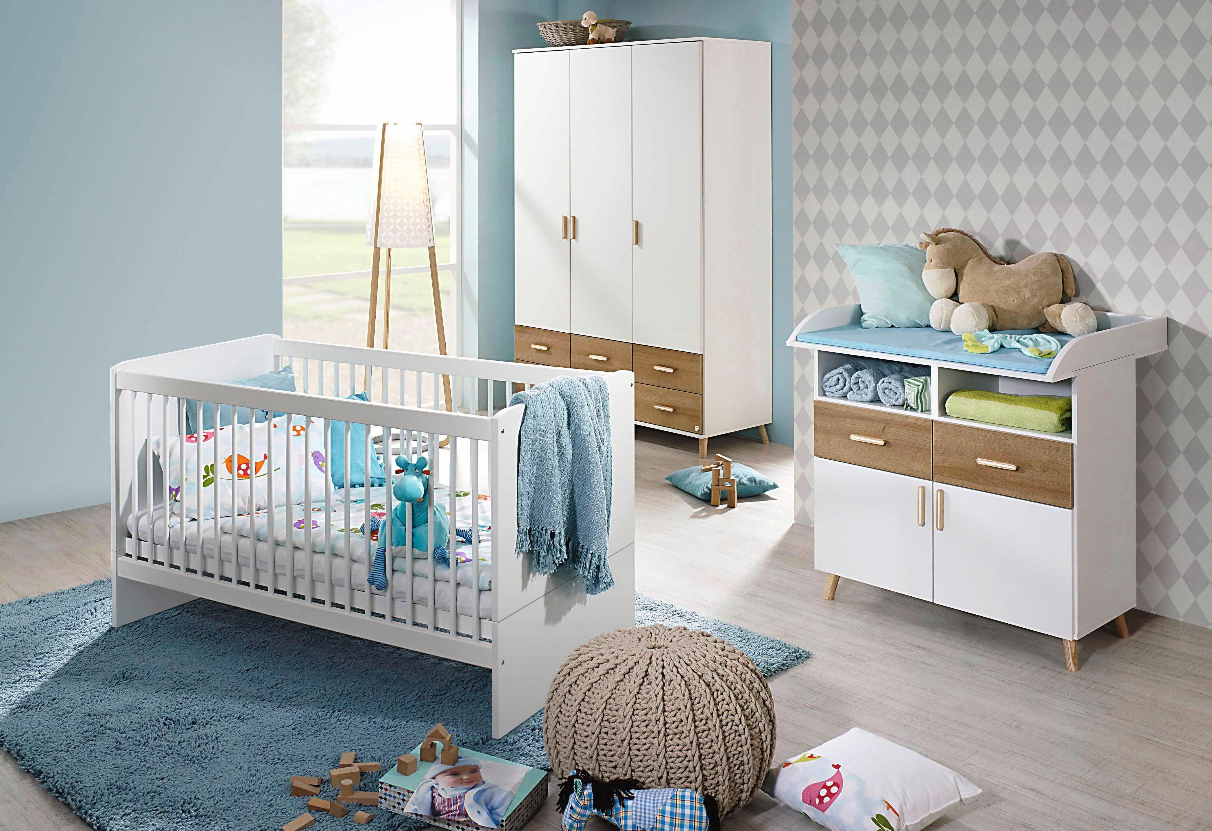Babykamer Miami Kinderkamer : Babykamer potsdam eiken wit kopen bekijk de collectie otto