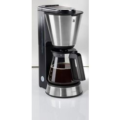 wmf koffiezetapparaat wmf kuechenminis aroma koffiezetapparaat glas, 0,65 l-kan, papieren filter 1x2 zilver