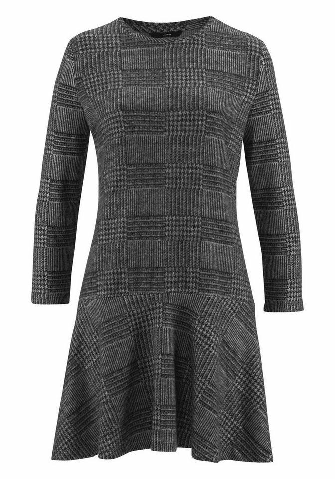 Vero Moda tricotjurk TOUCH grijs