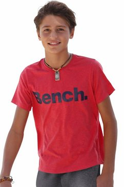 bench. t-shirt rood