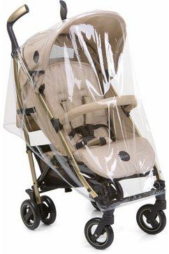 icoo regendek voor kinderwagen, »raincover pace« wit