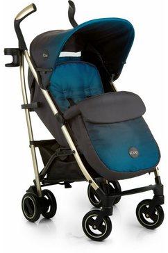 icoo kinder-buggy pace indigo met licht aluminiumframe; kinderwagen, buggy, sportbuggy, kinderbuggy, sport-kinderwagen blauw