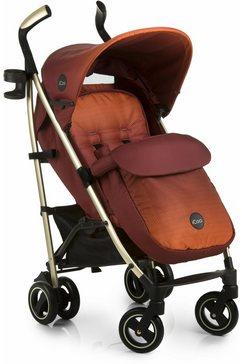 icoo kinder-buggy pace mocca met licht aluminiumframe; kinderwagen, buggy, sportbuggy, kinderbuggy, sport-kinderwagen oranje