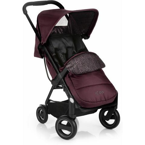 iCoo buggy inclusief autostoel 0+ (vanaf de geboorte), Acrobat Shop'n Drive Fishbone Bordeaux