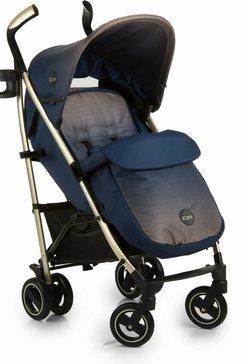icoo buggy met licht aluminium frame, »pace dressblue« blauw