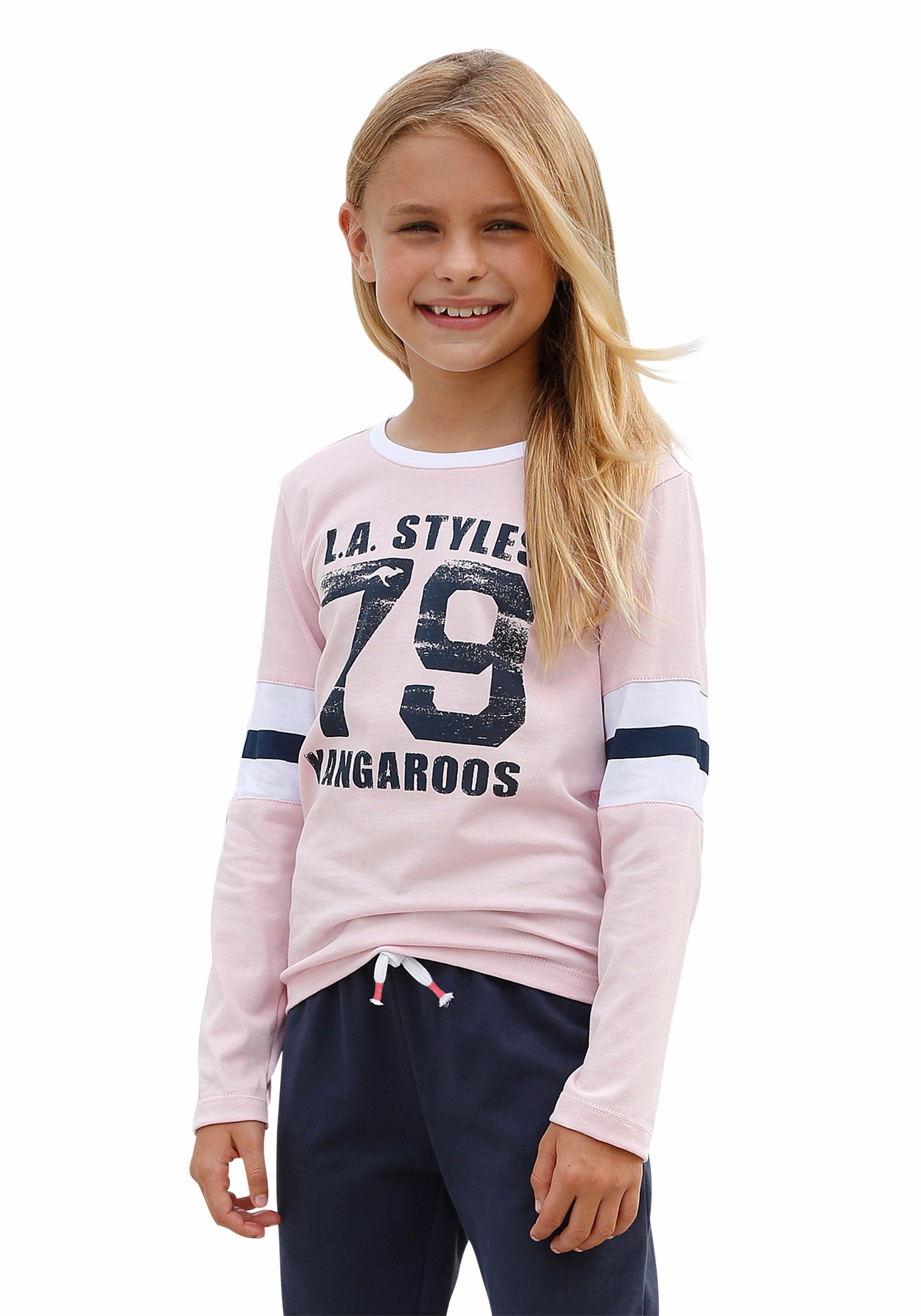 KangaROOS shirt met lange mouwen - verschillende betaalmethodes