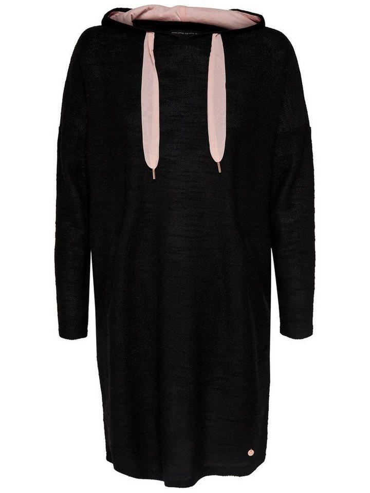 NU 21% KORTING: ONLY Gedetailleerde jurk met lange mouwen zwart