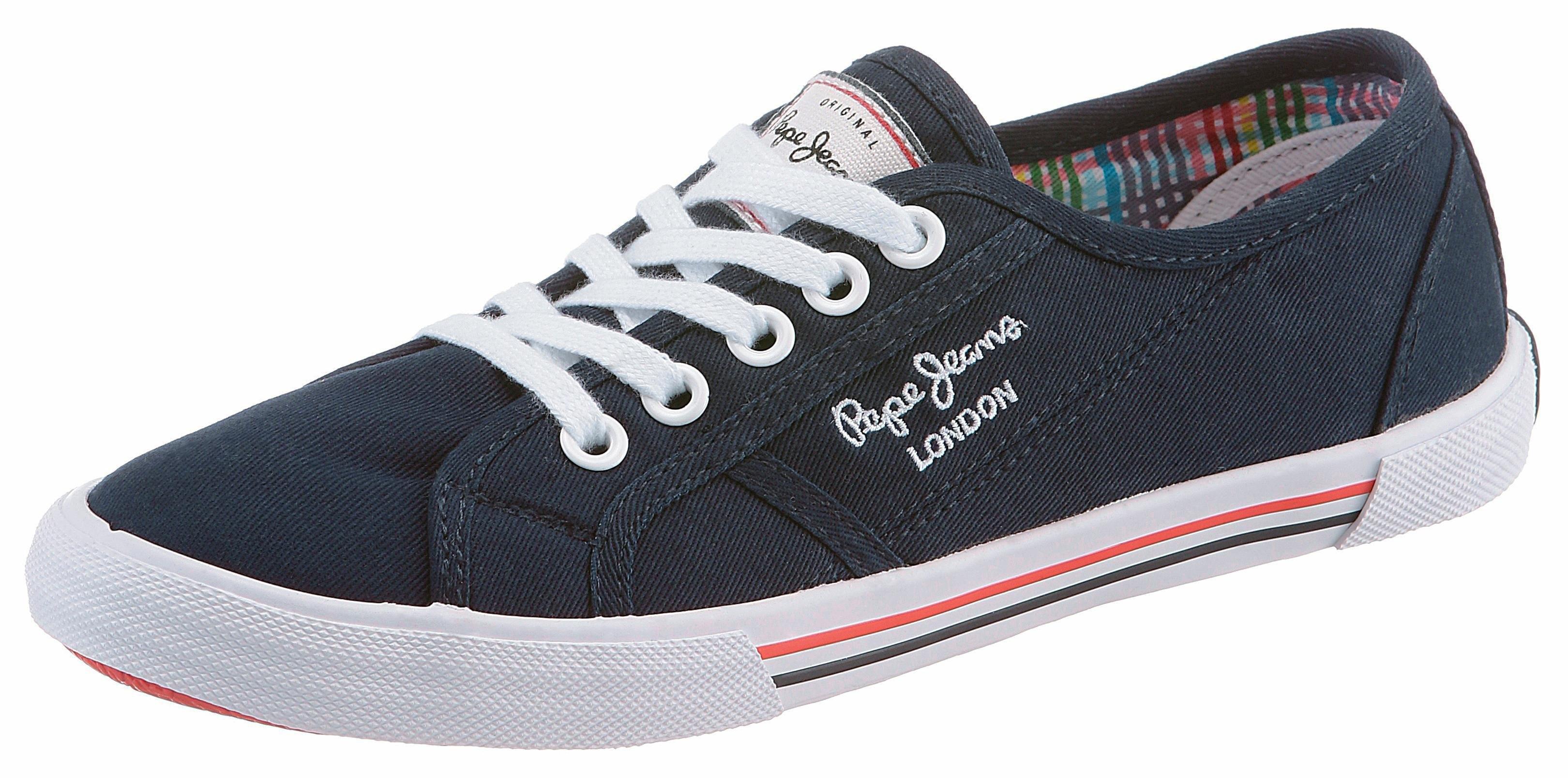Pepe Jeans sneakers »ABERLADY BASIC« bij OTTO online kopen