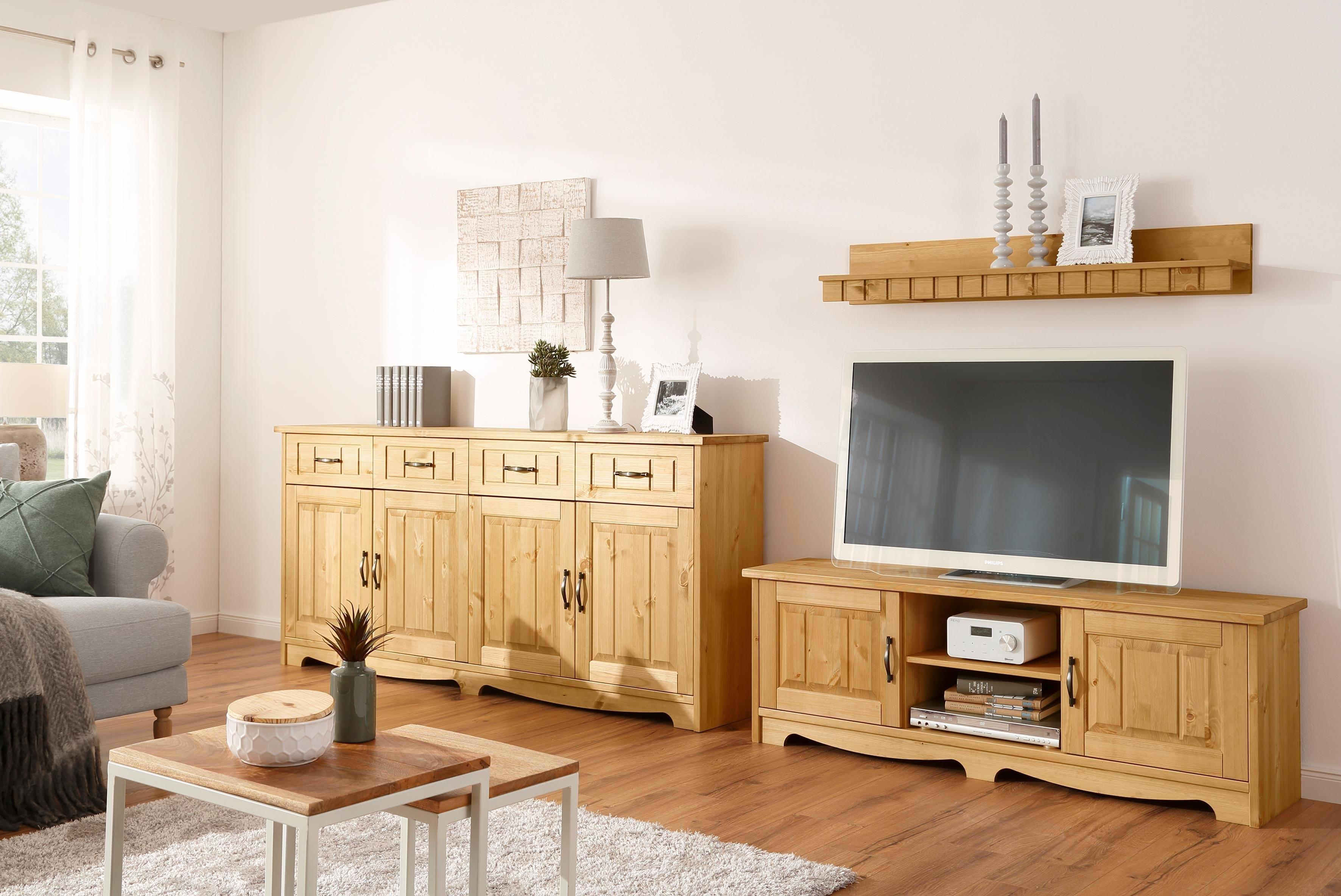 Home affaire wandmeubel Trinidad Set van 1 wandboard, 1 kast, 1 tv-meubel (set, 3 stuks) goedkoop op otto.nl kopen