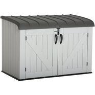 overkapping voor fietsen-kliko`s »lifetime kliko-ombouw-gereedschapsbox«, bxdxh: 191x108x132 cm grijs