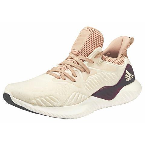 Adidas Alphabounce damessneaker beige en wit