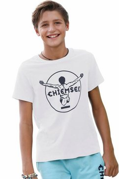 chiemsee t-shirt wit