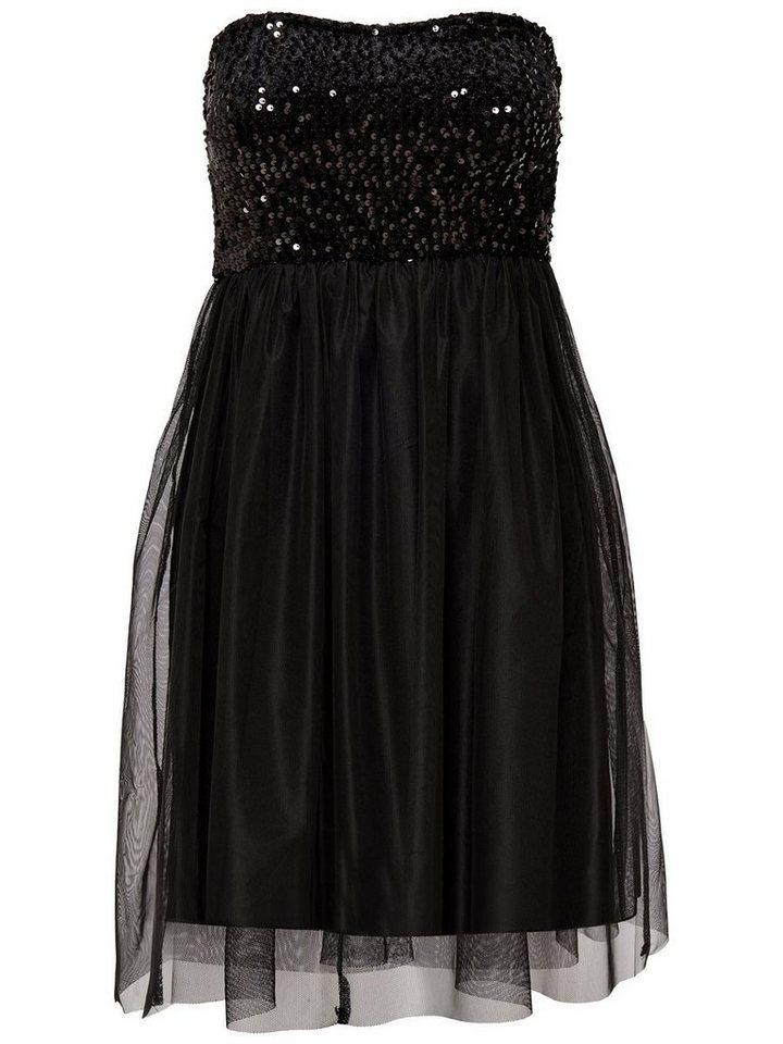 ONLY Tube jurk zwart