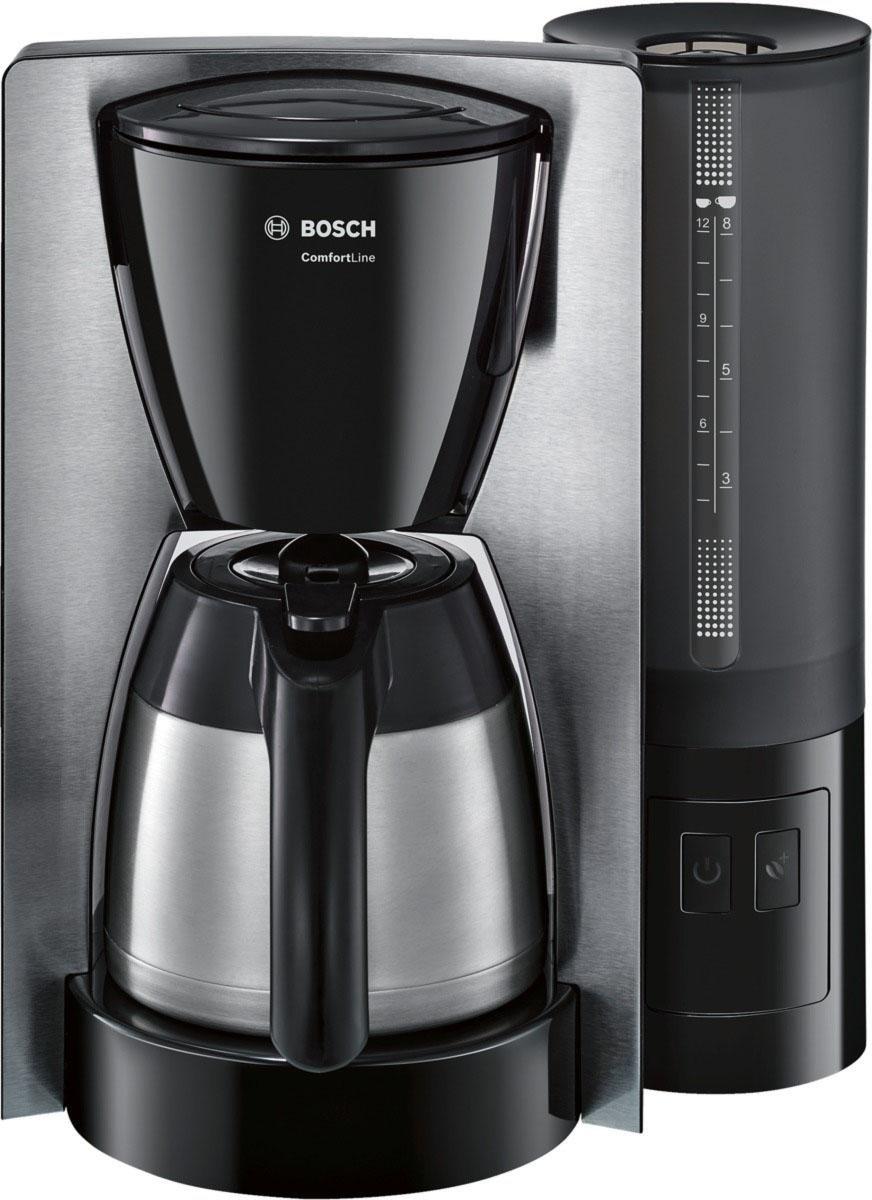Bosch Koffiezetapparaat ComfortLine TKA6A683, met thermoskan, zwart goedkoop op otto.nl kopen