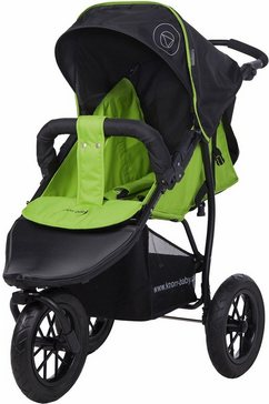 knorr-baby joggerkinderwagen, »joggy s happy colour, groen« groen