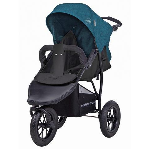 knorr-baby joggerkinderwagen, Joggy S Melange, petrol