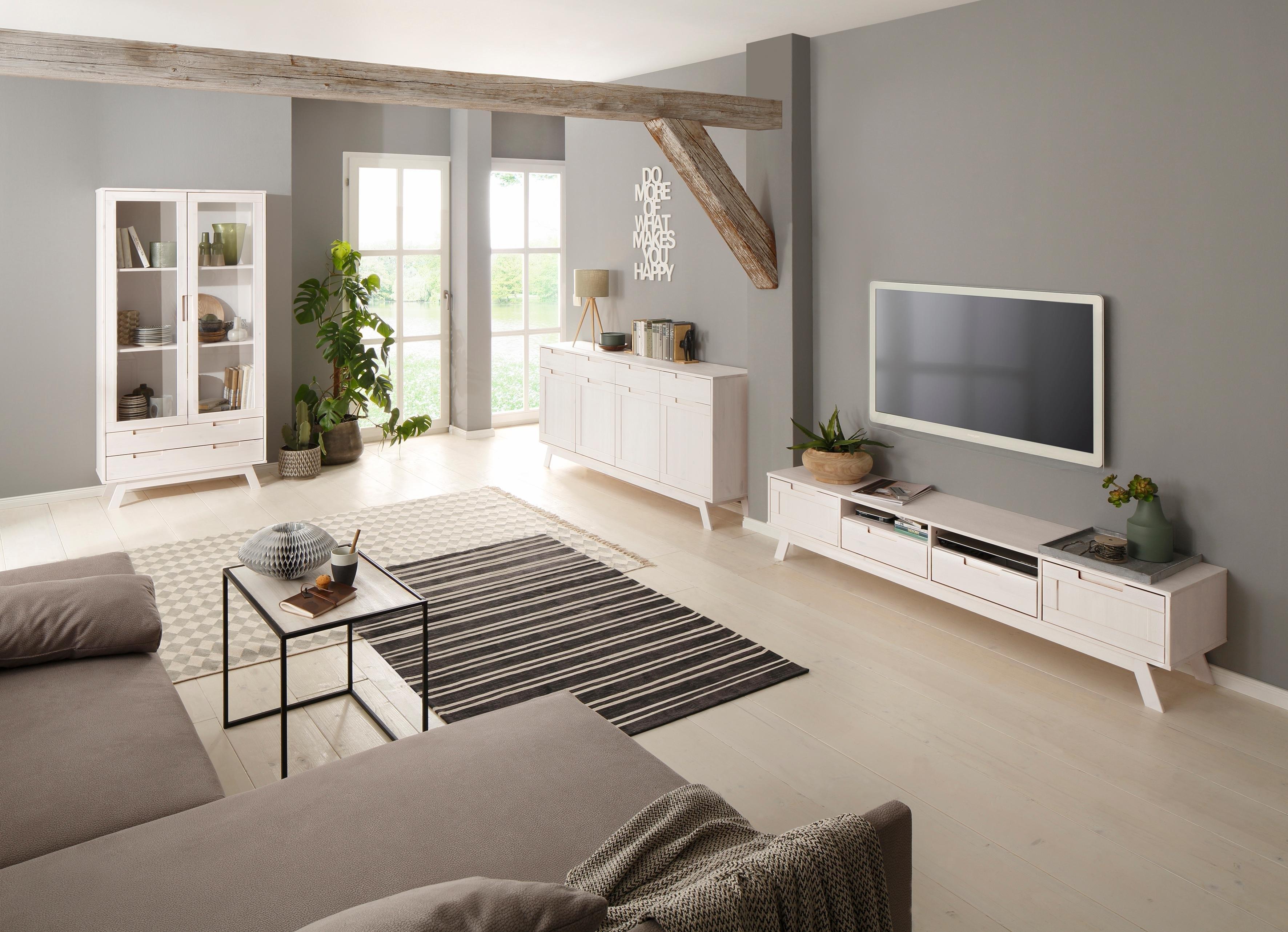 Home Affaire tv-meubel »Ohio«, in traditioneel design en met veel opbergmogelijkheden, 180 cm breed in de webshop van OTTO kopen