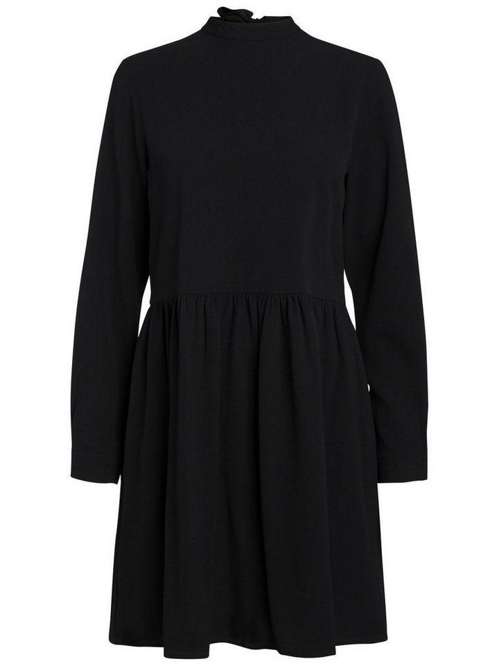 Pieces Longsleeve jurk zwart