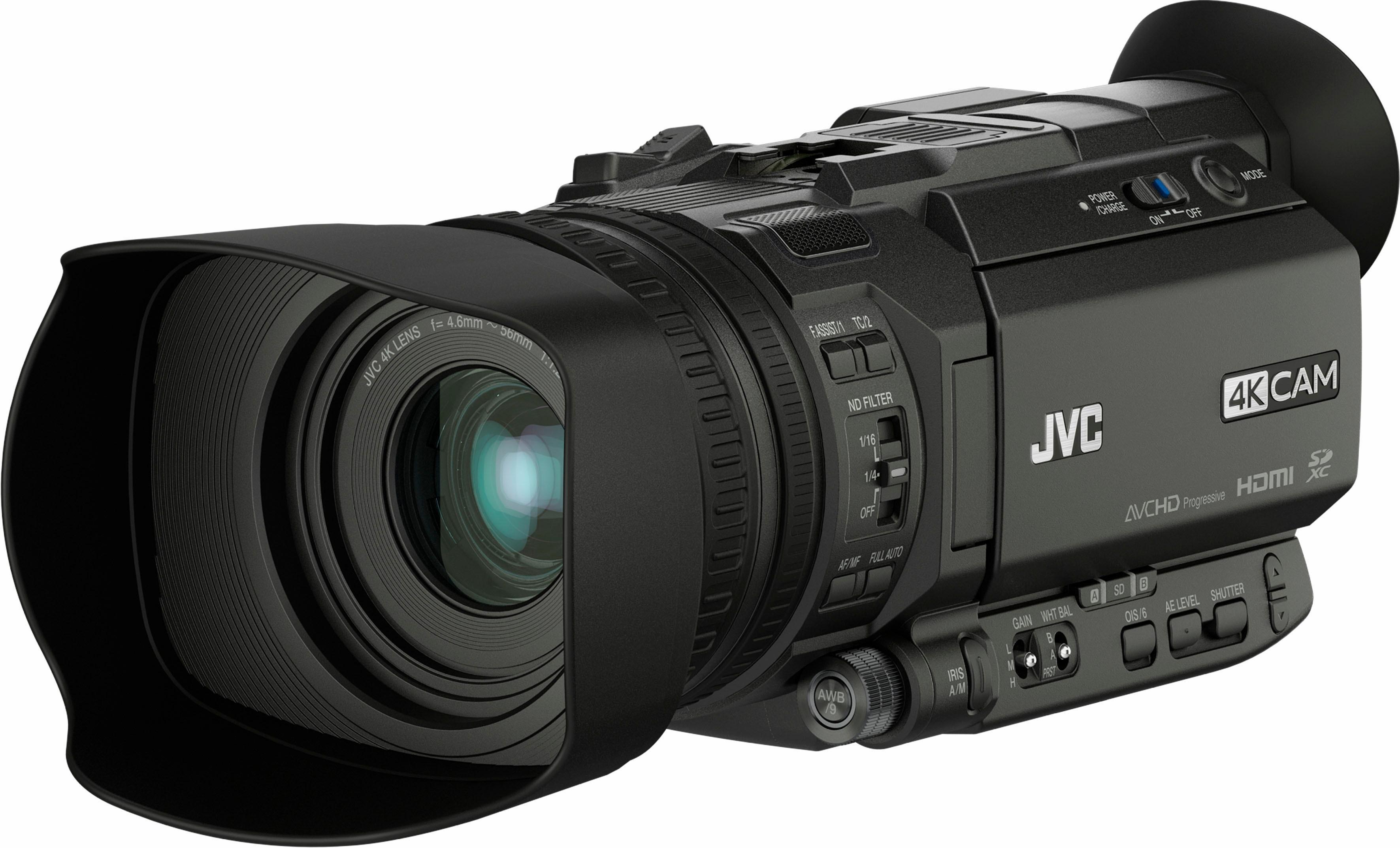 JVC GY-HM170E inclusief handgreep (KA-HU1) 4K (Ultra HD) camcorder - verschillende betaalmethodes