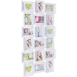 home affaire galerielijst fotolijstjes, fotoformaat 10x15 cm wit