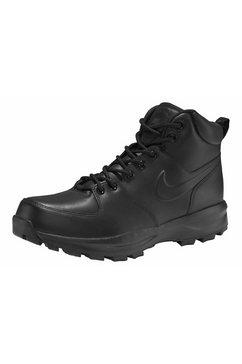 nike sportswear hoge veterschoenen manoa leather zwart