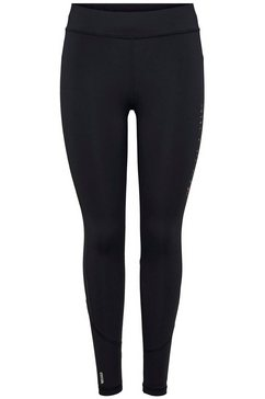 only play functionele tights onpperformance run brushed tights zwart