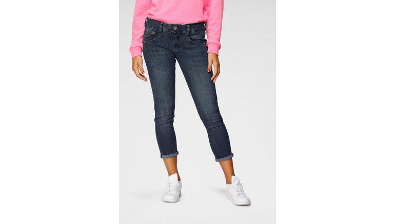 Herrlicher 7/8 jeans GINA CROPPED Slankmakend effect dankzij ingezette geer