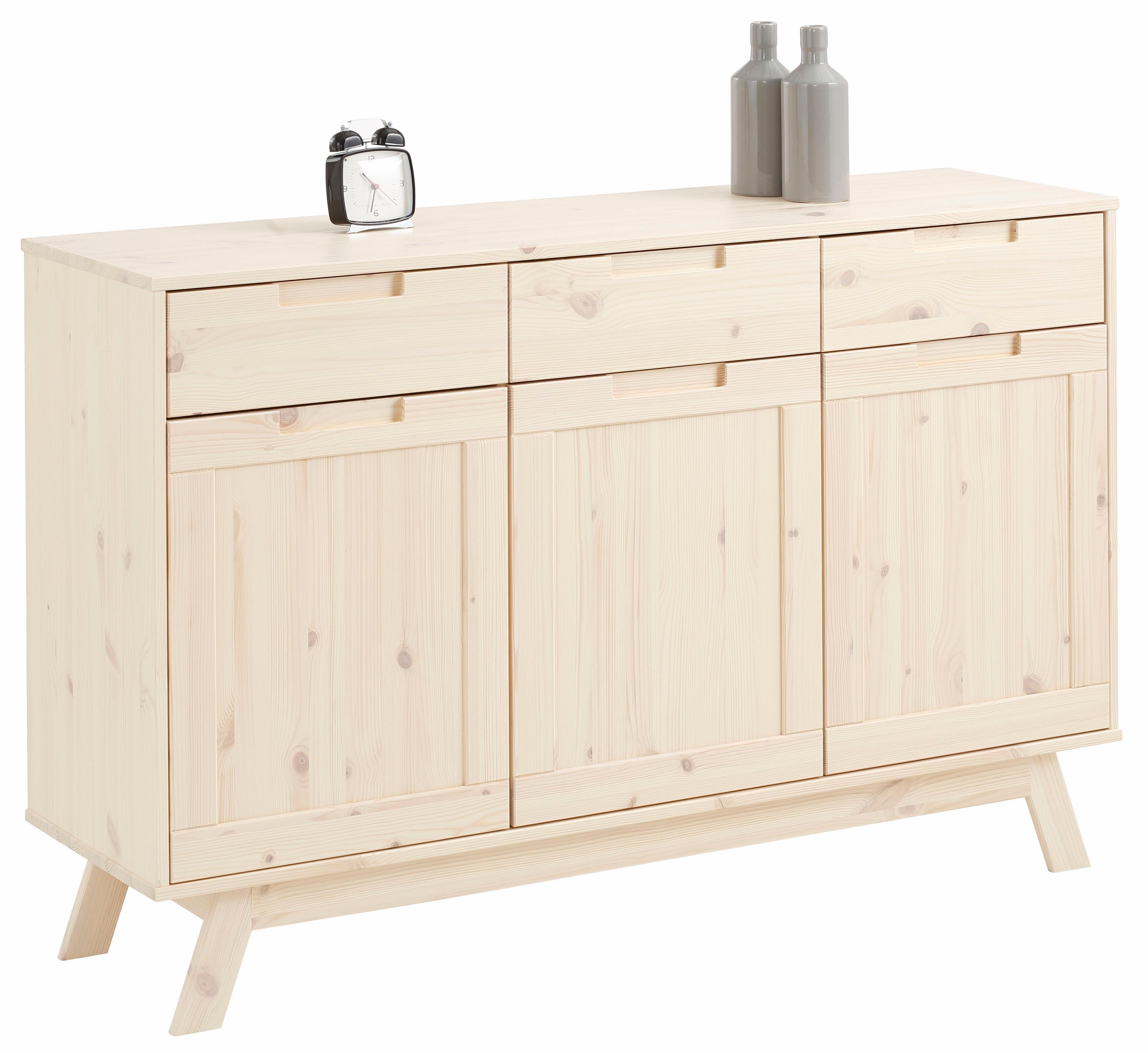 Home Affaire dressoir »Ohio«, in traditioneel design, met vele opbergmogelijkheden, breedte 128 cm nu online bestellen